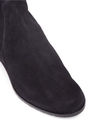Detail View - Click To Enlarge - STUART WEITZMAN - 'RESERVE' suede KNEE HIGH BOOTS