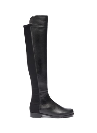 Main View - Click To Enlarge - Stuart Weitzman - '5050' leather knee high boots