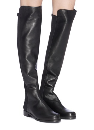 Figure View - Click To Enlarge - Stuart Weitzman - '5050' leather knee high boots