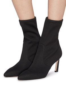Stuart Weitzman 'Rapture' stretch leather sock ankle boots