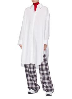 Acne Studios Oversized poplin shirt dress