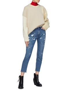 Acne Studios 'Melk' paint splatter jeans