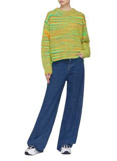 Acne Studios Stripe rib knit sweater