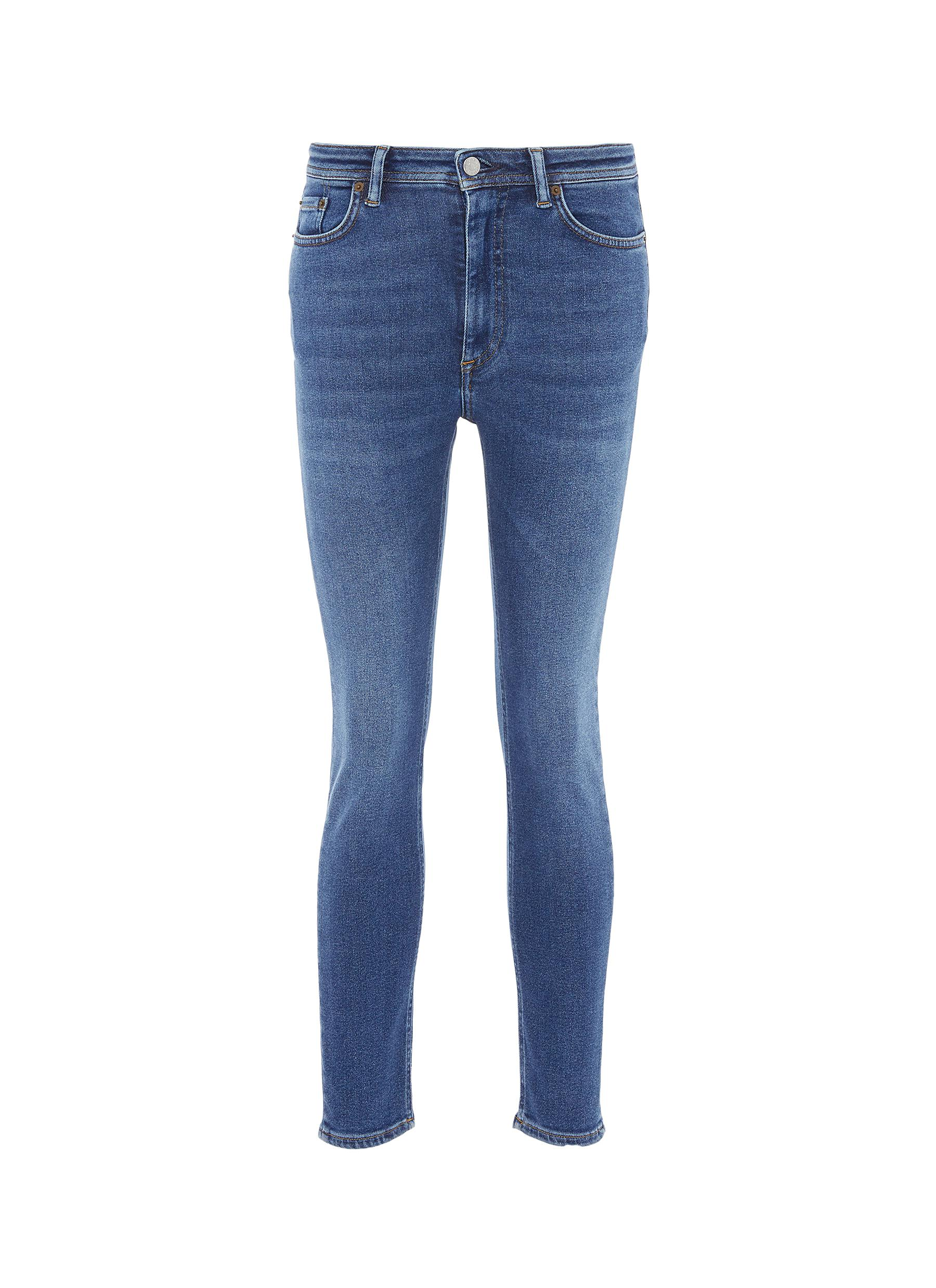 Washed skinny jeans by Acne Studios