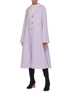 Acne Studios Wool-cashmere melton coat