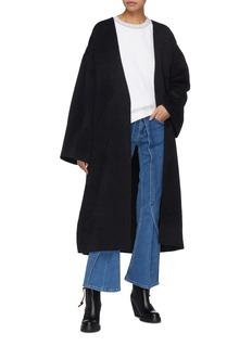 Acne Studios Belted wrap oversized coat