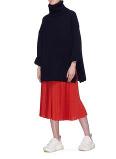 Acne Studios Wool chunky rib knit turtleneck sweater