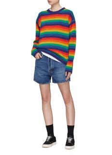 Acne Studios 'Samara' stripe wool rib knit sweater