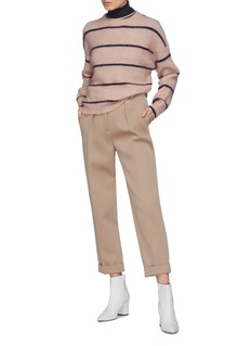 Acne Studios 'Rhira' stripe boxy sweater