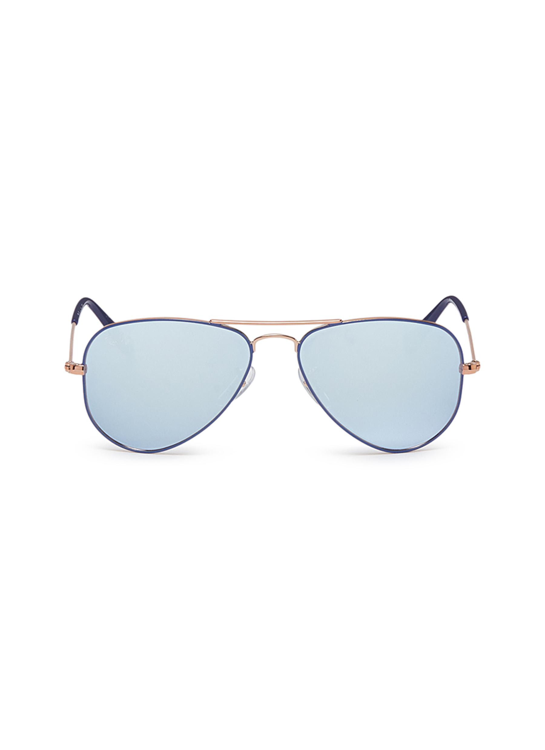 6ab24be25eb02 czech buyray ban rb3025 original aviator sunglasses blue online at  johnlewis 0fe11 a2706  cheap main view click to enlarge ray ban rj9506s  metal aviator ...