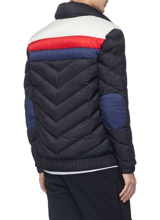 Back View - Click To Enlarge - Perfect Moment - 'Apres' colourblock Airtastic® down puffer jacket
