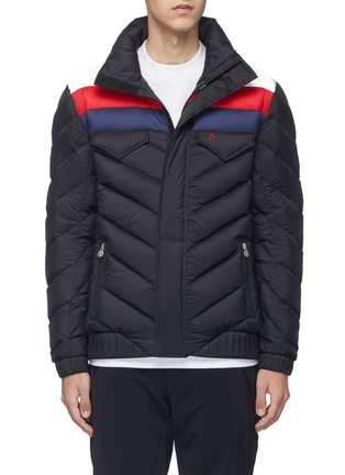 Main View - Click To Enlarge - Perfect Moment - 'Apres' colourblock Airtastic® down puffer jacket