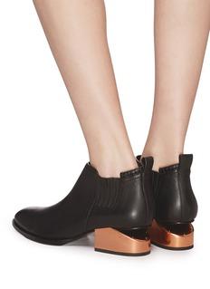 Alexander Wang  'Kori' cutout heel leather Chelsea boots