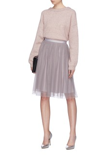 Needle & Thread 'Dotted' tulle midi skirt