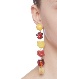 Cult Gaia 'Leo' acrylic link drop earrings