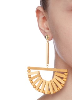 Cult Gaia 'Ark' bamboo drop earrings