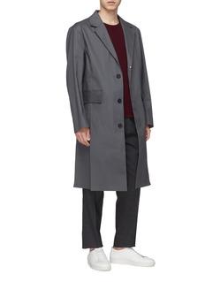 Mackintosh Waterproof notched lapel coat