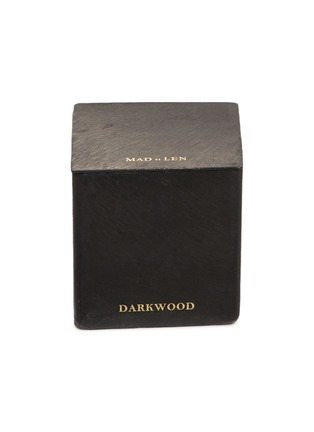 Main View - Click To Enlarge - MAD ET LEN - Scented small block candle – Darkwood