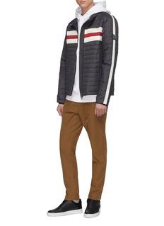 Ecoalf 'Cervino' stripe Primaloft® down puffer jacket