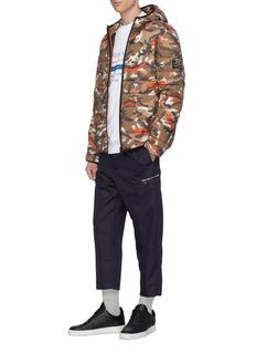 Ecoalf 'Asp' hooded camouflage print Primaloft® down puffer jacket