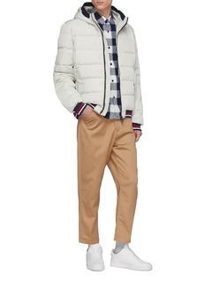 Ecoalf 'Trondheim' hooded stripe border Primaloft® down puffer jacket