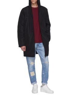 Ecoalf 'Livorno' hooded Primaloft® down coat