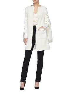 Leal Daccarett 'Alexandra' cape sleeve coat