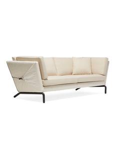 Stephen Kenn Studio Bowline sofa in cream canvas