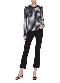 Simon Miller 'Altona' stripe wool zip cardigan