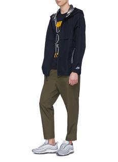 Nike 'Air Max' reversible hooded performance windbreaker jacket