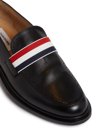 THOM BROWNE | Tricolour band leather