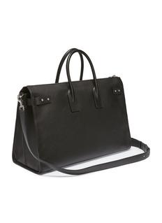 SAINT LAURENT 'Sac de Jour Souple 48h' large leather duffle bag