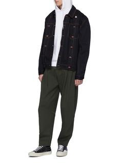 Feng Chen Wang Twill waist panel jogging pants