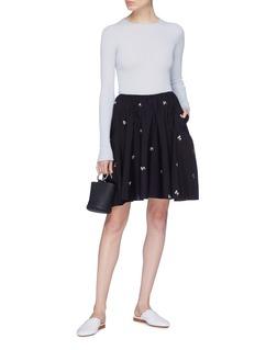 Vince Floral print skirt