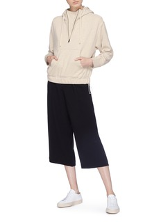 Vince Pleated crepe culottes