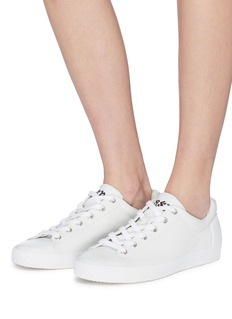 Ash 'Nicky' cutout star patch leather sneakers