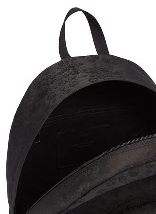 Detail View - Click To Enlarge - Alexander McQueen - Skull jacquard backpack