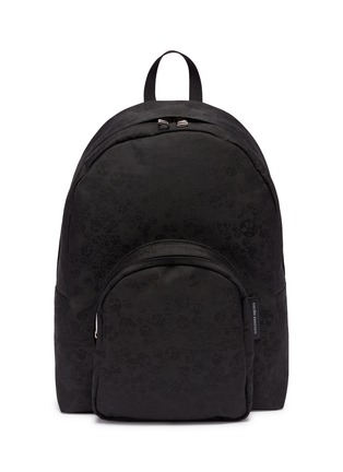 Main View - Click To Enlarge - Alexander McQueen - Skull jacquard backpack