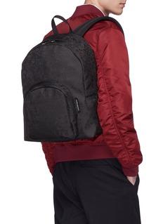 Alexander McQueen Skull jacquard backpack