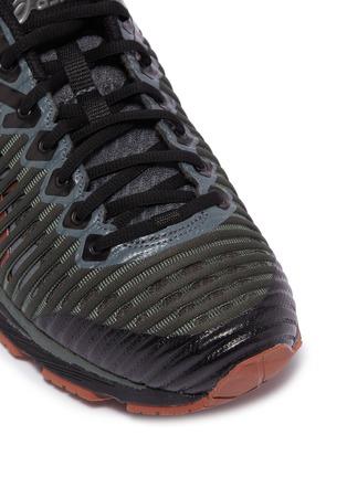 Detail View - Click To Enlarge - Kiko Kostadinov - x ASICS 'GEL-Delva 1' patchwork sneakers