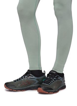 Figure View - Click To Enlarge - Kiko Kostadinov - x ASICS 'GEL-Delva 1' patchwork sneakers