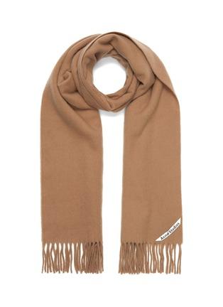 Main View - Click To Enlarge - ACNE STUDIOS - Tassel wool scarf