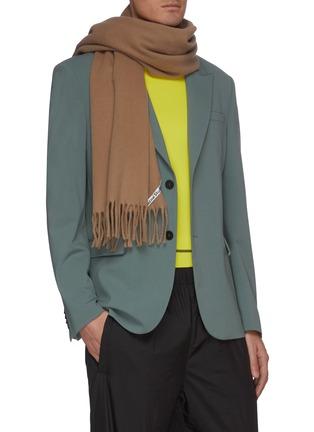 Figure View - Click To Enlarge - ACNE STUDIOS - Tassel wool scarf