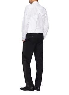 Helmut Lang Waistcoat layered back shirt