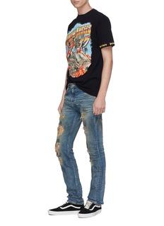 NOVE Dirt spot ripped jeans