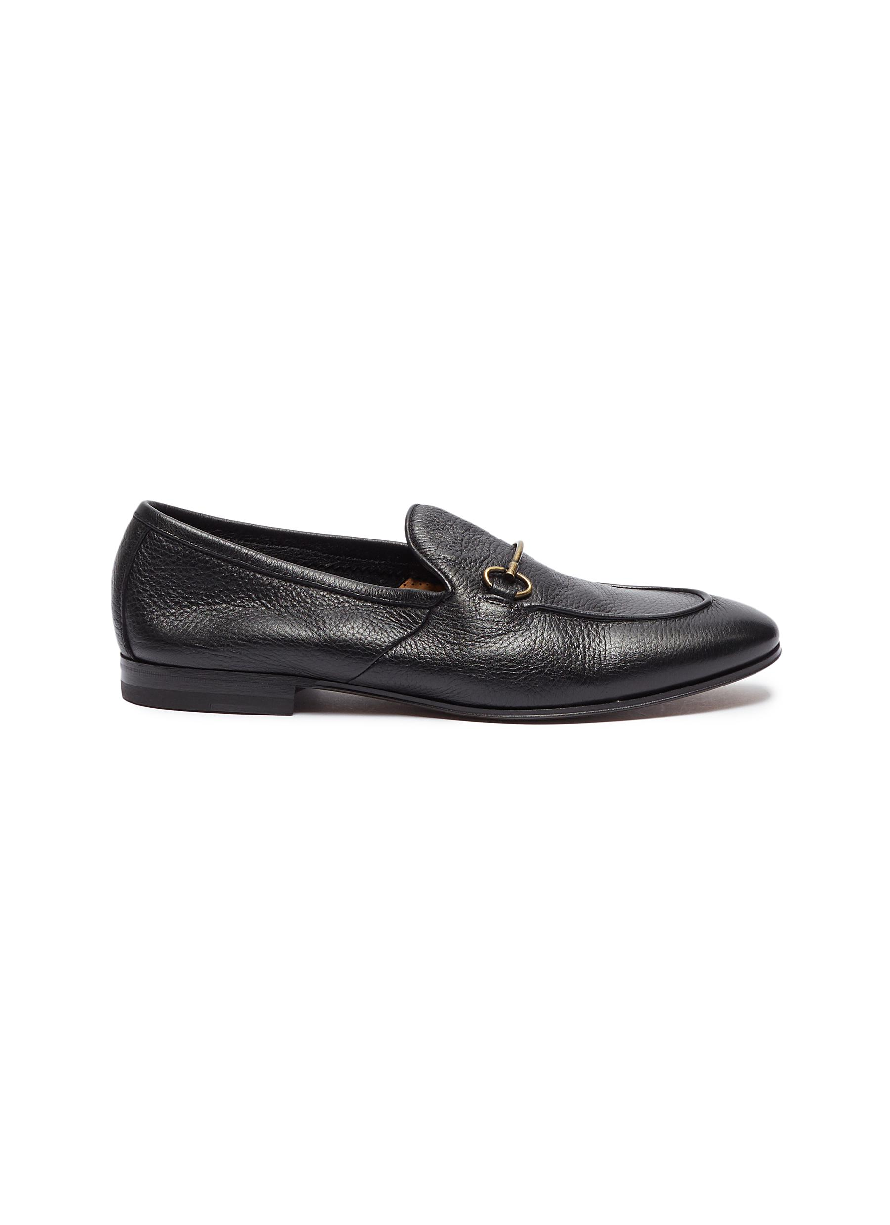 Horsebit leather loafers by Henderson