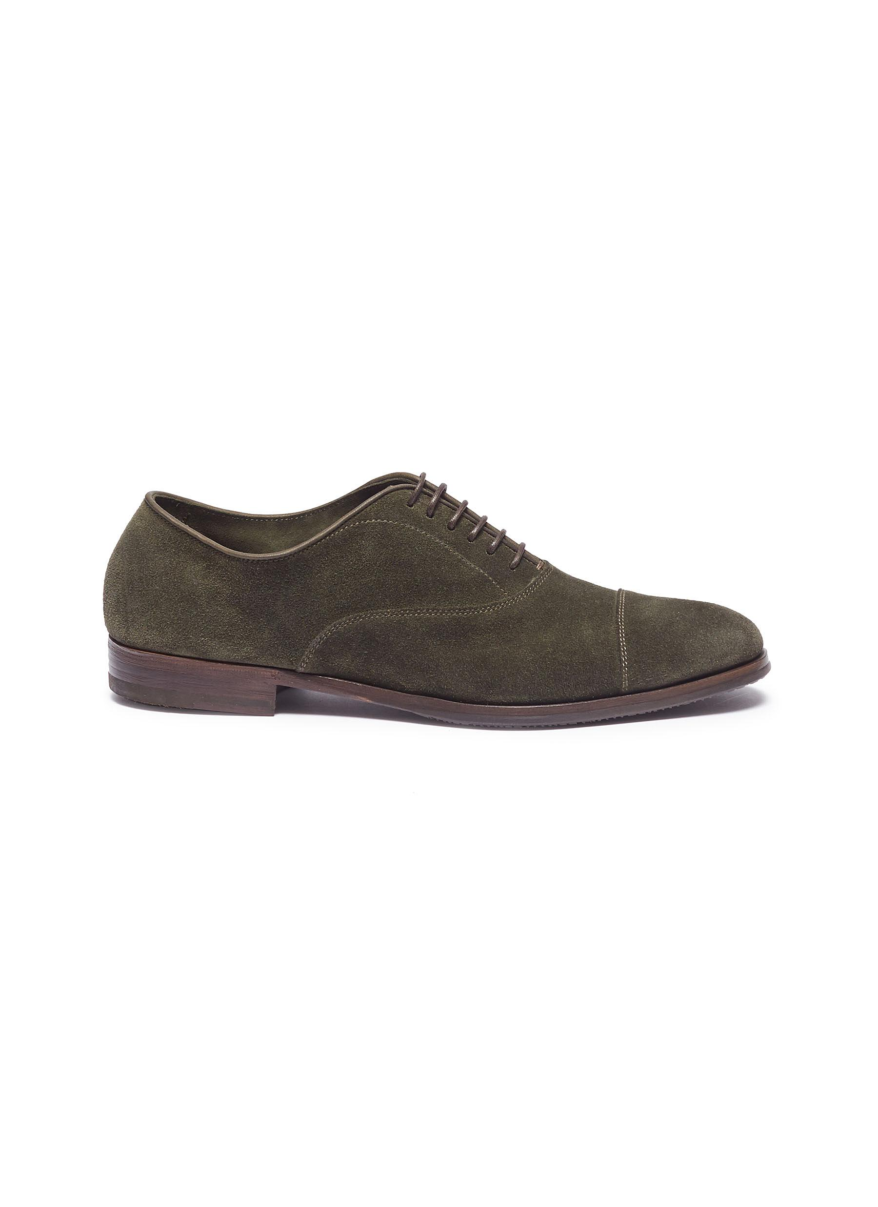 Suede Oxfords by Henderson