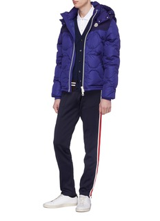 Moncler Detachable sleeve down puffer jacket