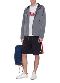 Moncler Stripe outseam sweat shorts