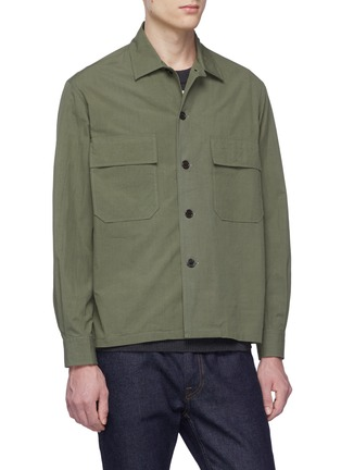 Front View - Click To Enlarge - TOMORROWLAND - Chest pocket shirt